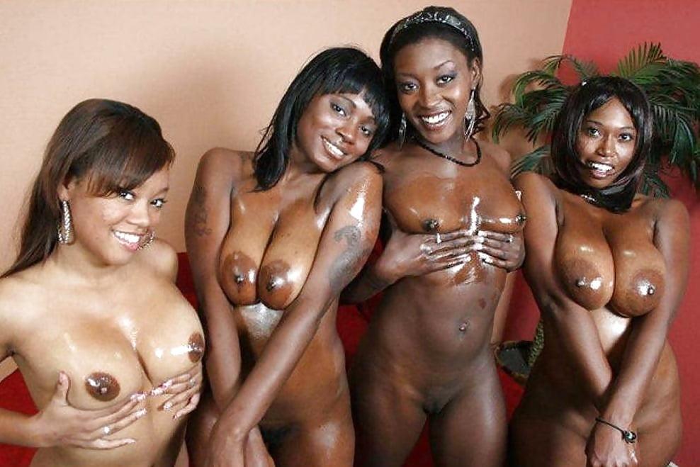 Ebony chicks bare naked - Other