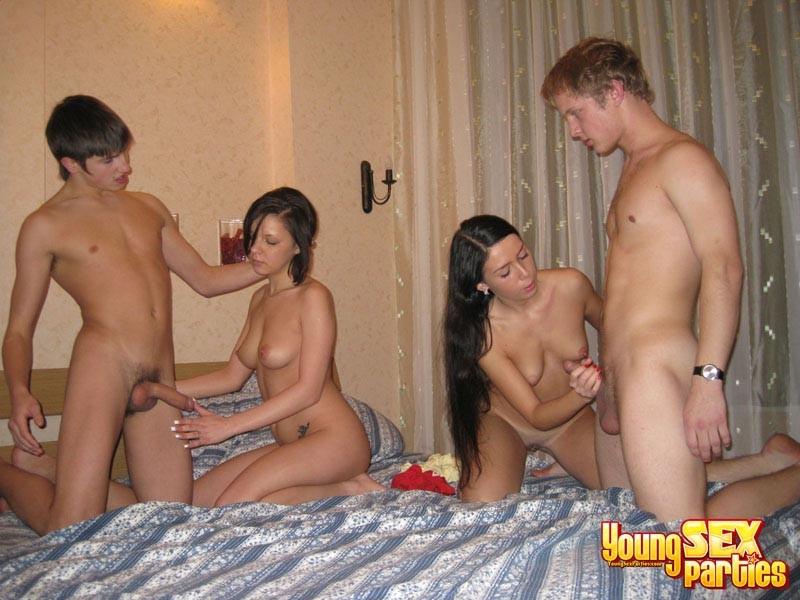 4 little girls having a highly..