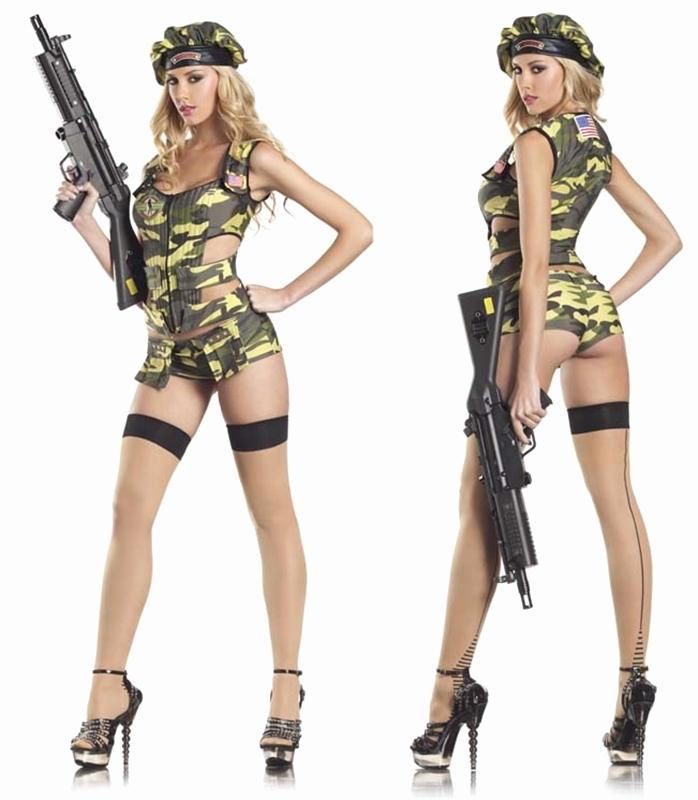 Wonderful Military Costume Hottest Of..