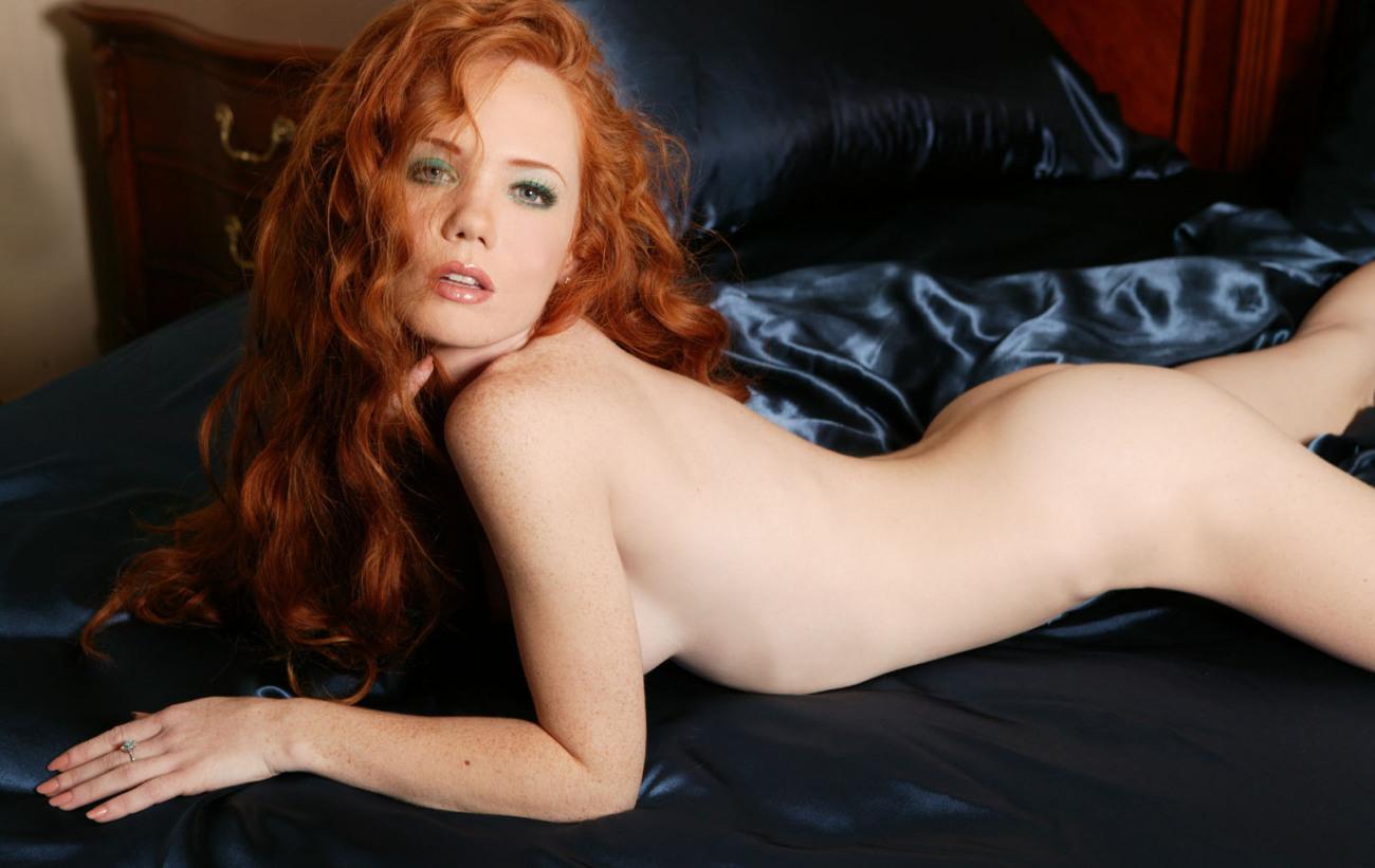 Redheads bare animal Slip Display..