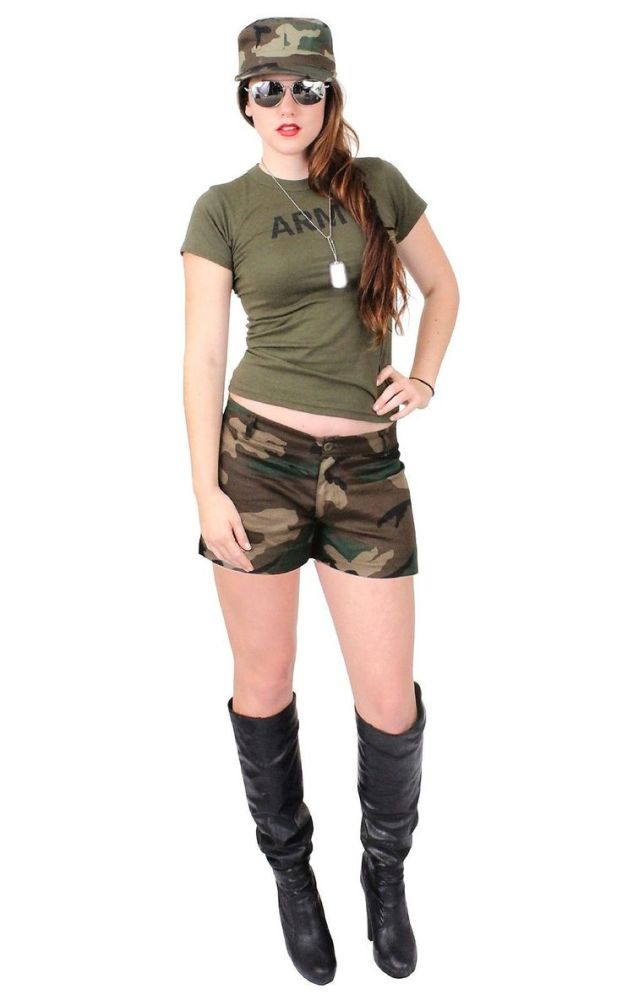 Mind-blowing Army Female Costume..