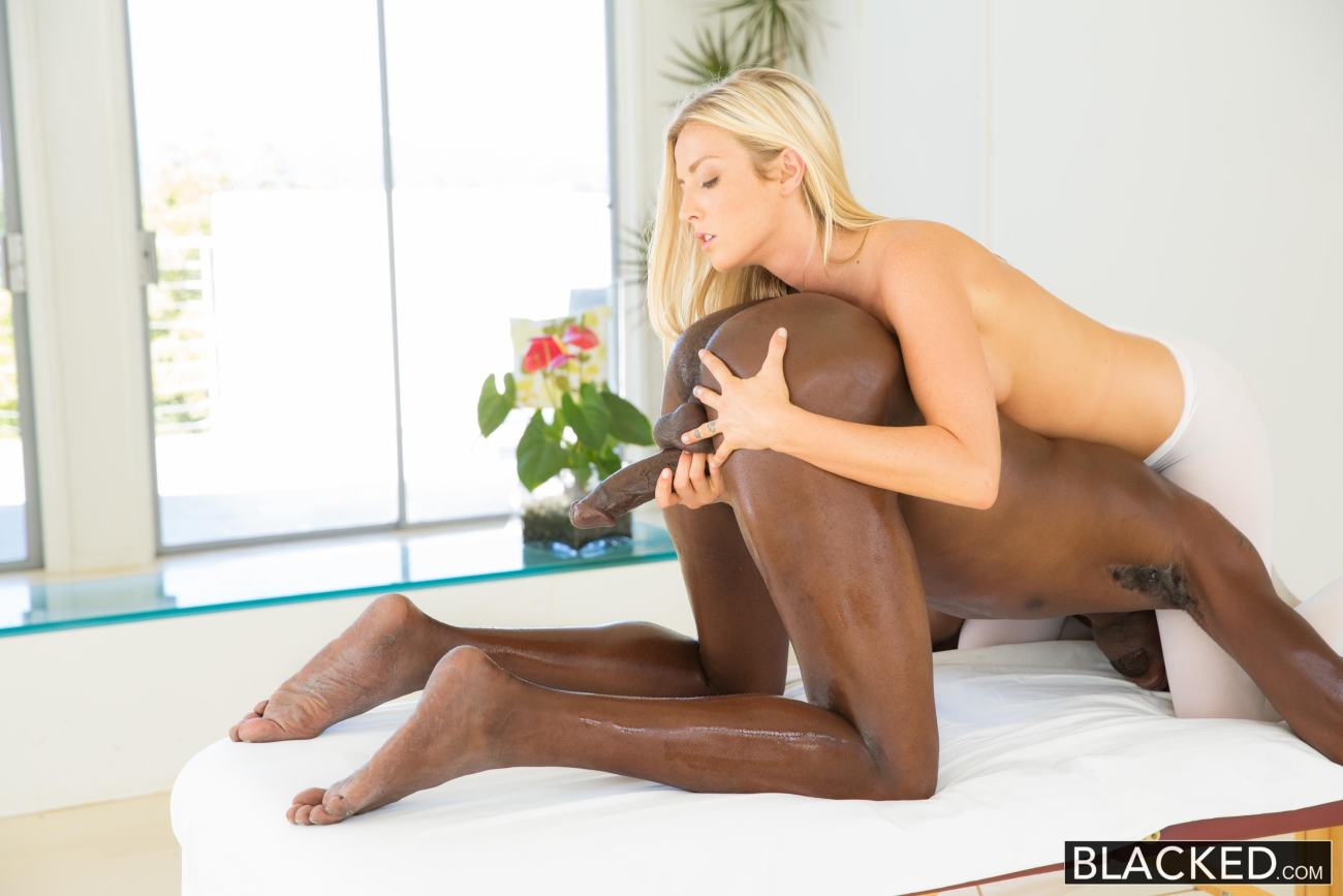 Karla Kush - Wonderful blond  kneading..
