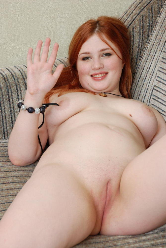 Plump red-haired young woman fuck-fest..