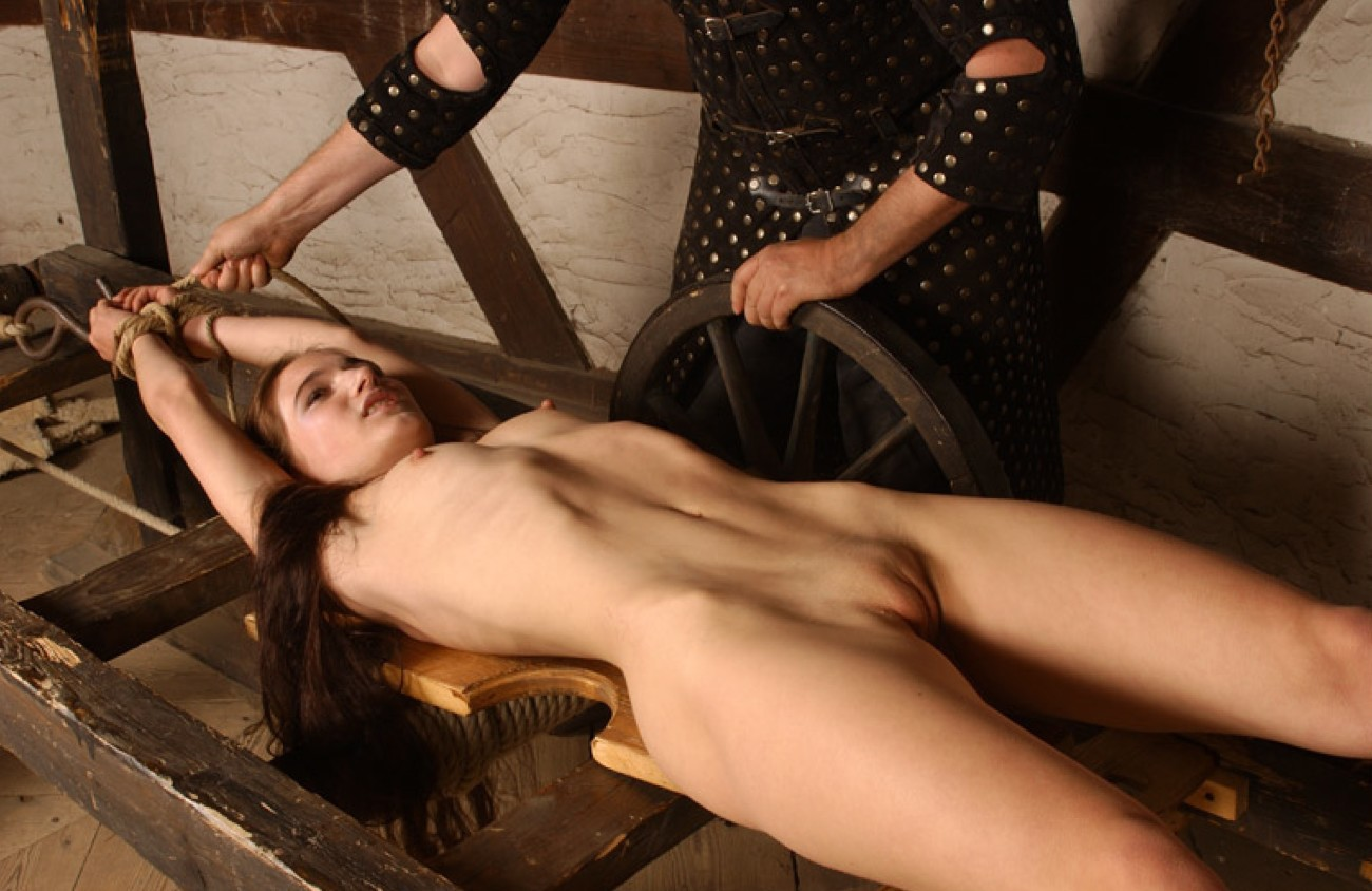 Sapphic Witch Restrain bondage Orgy..
