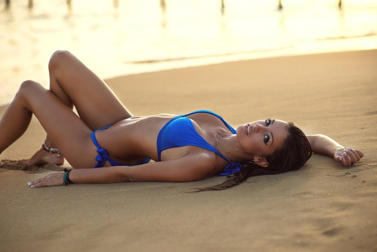 #women, #Ana Segura, #tanned, #looking..