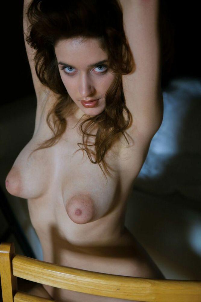 sans bra mature pointy nipples