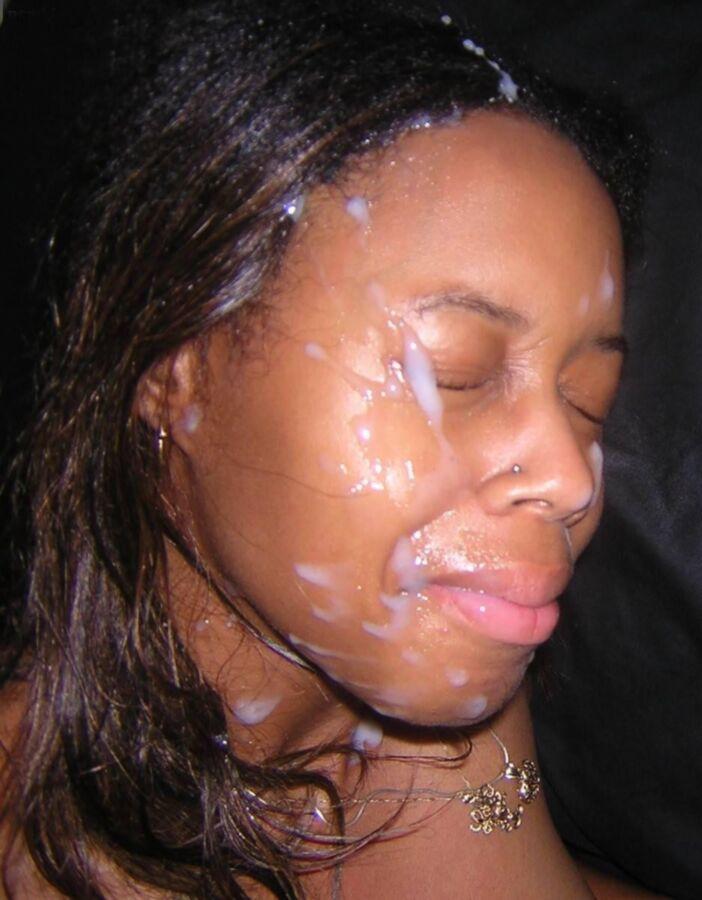 Black facial cumshot Humiliation! Free..