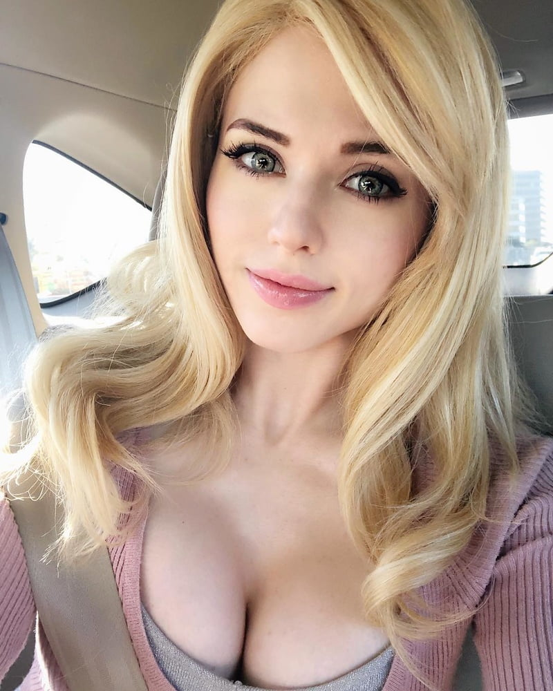 Amouranth- warm costume play chick..