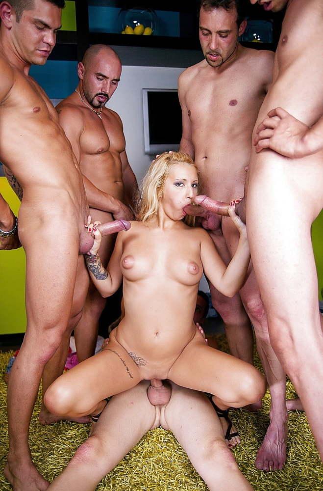 Individual gangbang, orgy, groupsex -..