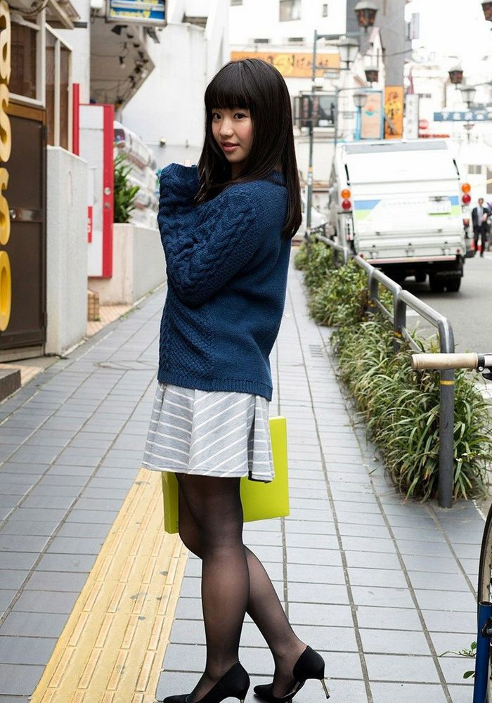 Nice japanese student Yuuna Himekawa..